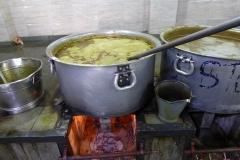 23 Volunteers preparing meal, Gurdwara Sis Ganj Sahib, Delhi