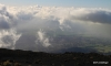 View of upcountry Maui from Haleakala National Park