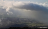Storm over upcountry Maui from Haleakala N.P.