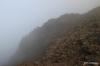 Mist over Haleakala crater