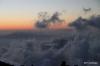 Sunset on clouds, Haleakala National Park