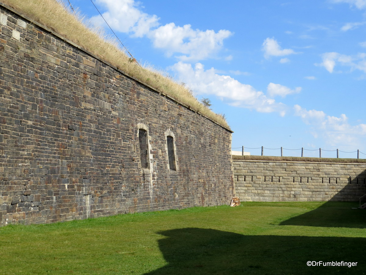 Outer walls of the Citadel, Halifax