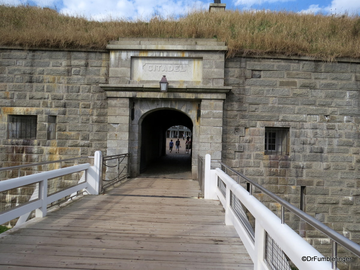 Entry to the Citadel, Halifax