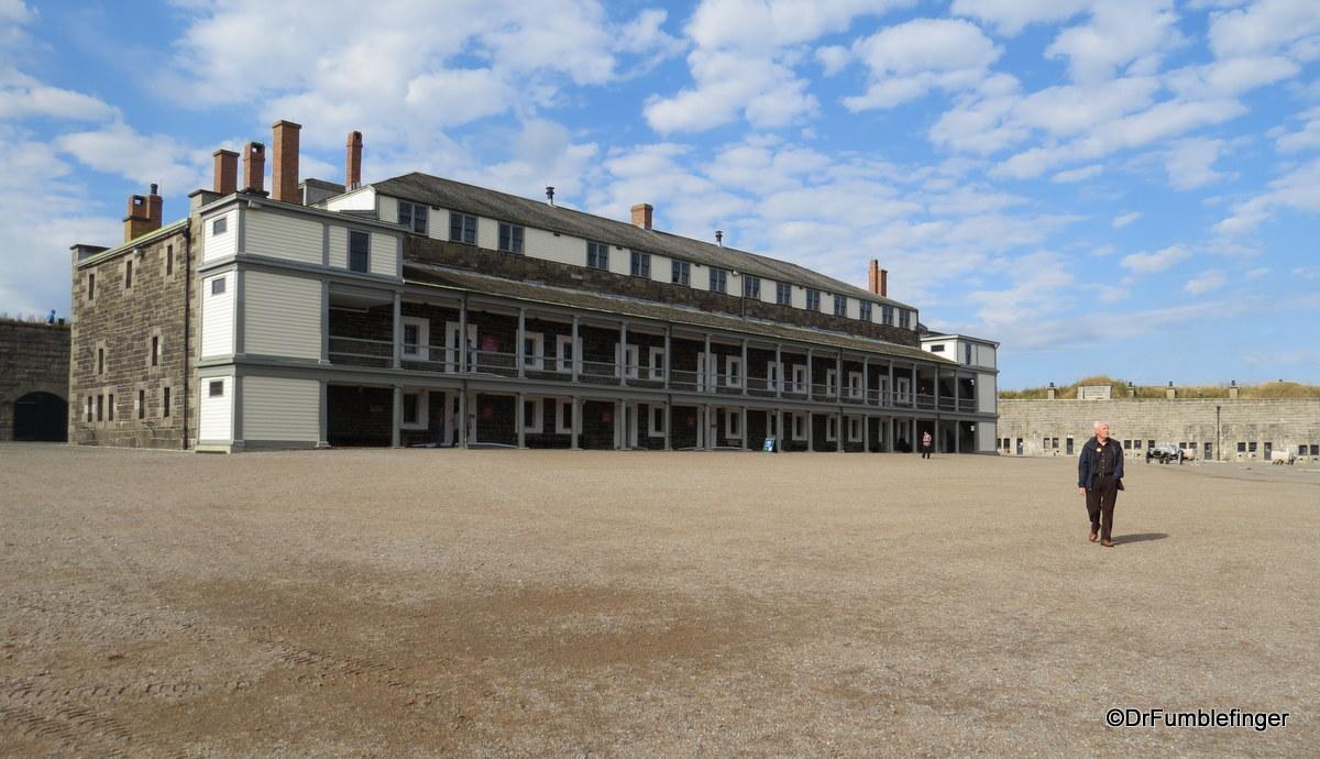 Interior Courtyard, Citadel, Halifax