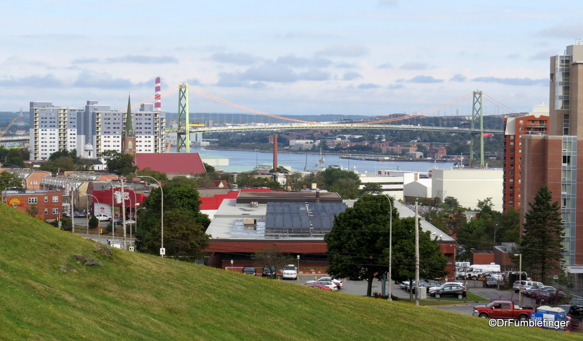 View of Halifax from the Citadel