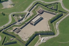 Citadel Hill viewed from the Air (Courtesy Gov of Canada)