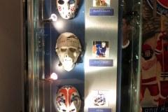 Mask exhibit, Hockey Hall of Fame, Toronto