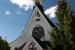 Leadville's Episcopalian church.