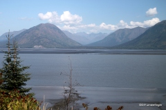 Turnagain Arm of Cook Inlet near Hope