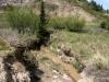 Creek on the floor of Horseshoe Canyon