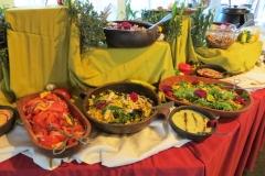 Dinner buffet, Hotel Las Torres, Torres del Paine