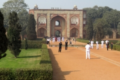 Entrance to Humayun's Tomb, Delhi