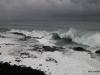 Hurricane Ana approaches Kauai's southern shore. Poipu