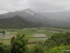 1Tropical storm conditions existed, with rain-drenched lands, from the Hanalei Lookout
