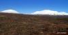 Mountains near entrance to Thingvellir