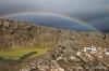 Rainbow over Thingvellir National Park