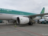 Aer Lingus flight, carrying us from London to Dublin