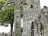 1200 year old High Celtic Cross and Tower, Monasterboice, Ireland