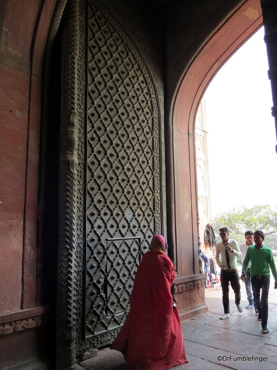 Entry Door, Jama Masjid, Delhi