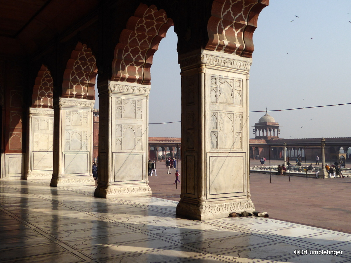 Courtyard, Jama Masjid, Delhi