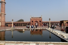 Washing pool, Courtyard, Jama Masjid, Delhi