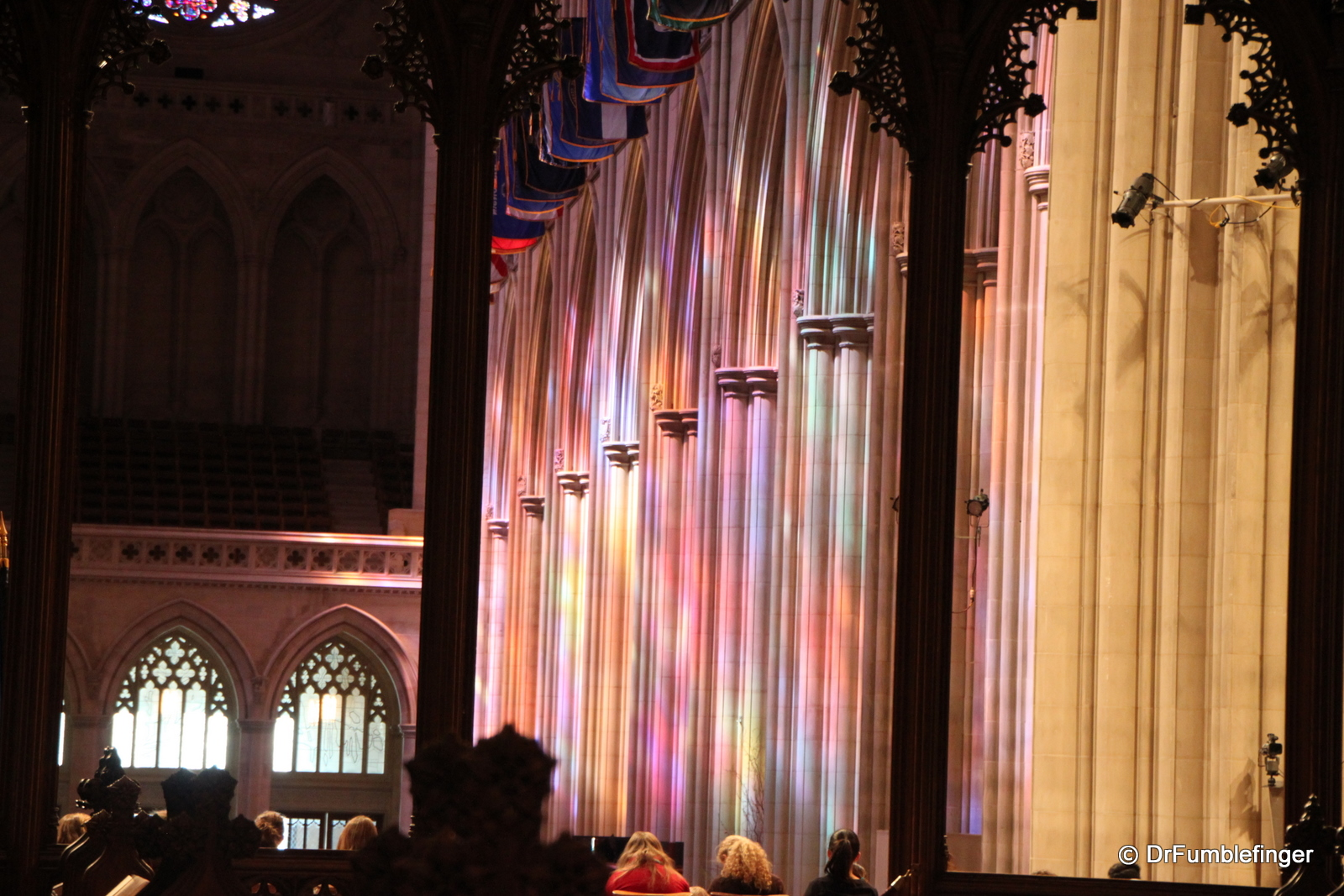 Stained glass, National Cathedral, Washington D.C.