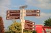 Sandton street signs