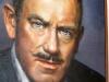 Portrait of Steinbeck, Steinbeck House, Salinas, California