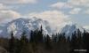 Snow-capped peaks near Banff