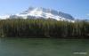 Mr. Rundle and Johnson Lake