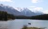 Canoeing on Johnson Lake
