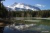 Mr. Rundle reflected on Johnson Lake