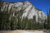 Mountain beside Bow Valley/Hoodoos trail