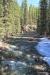 View of Johnston Creek, upstream of the bridge.