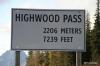 Highwood Pass, Kananaskis country