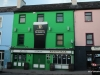 An Irish pub, Guinness, green paint and all