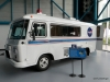 Van used to transport astronauts to Saturn V