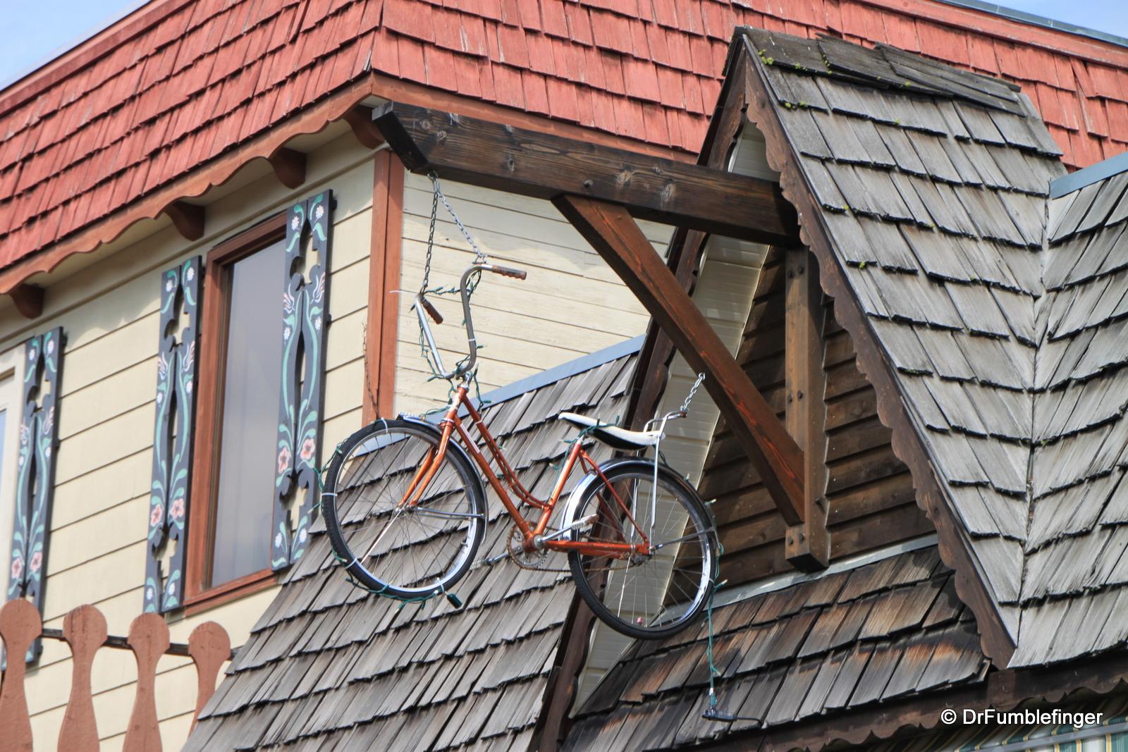 """Bike shop, Kimberley's """"Platzl"""""""