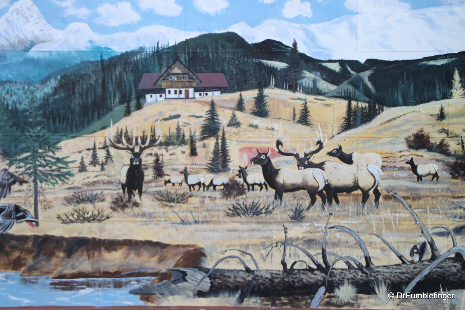 "Mountain mural, Kimberley's ""Platzl"""