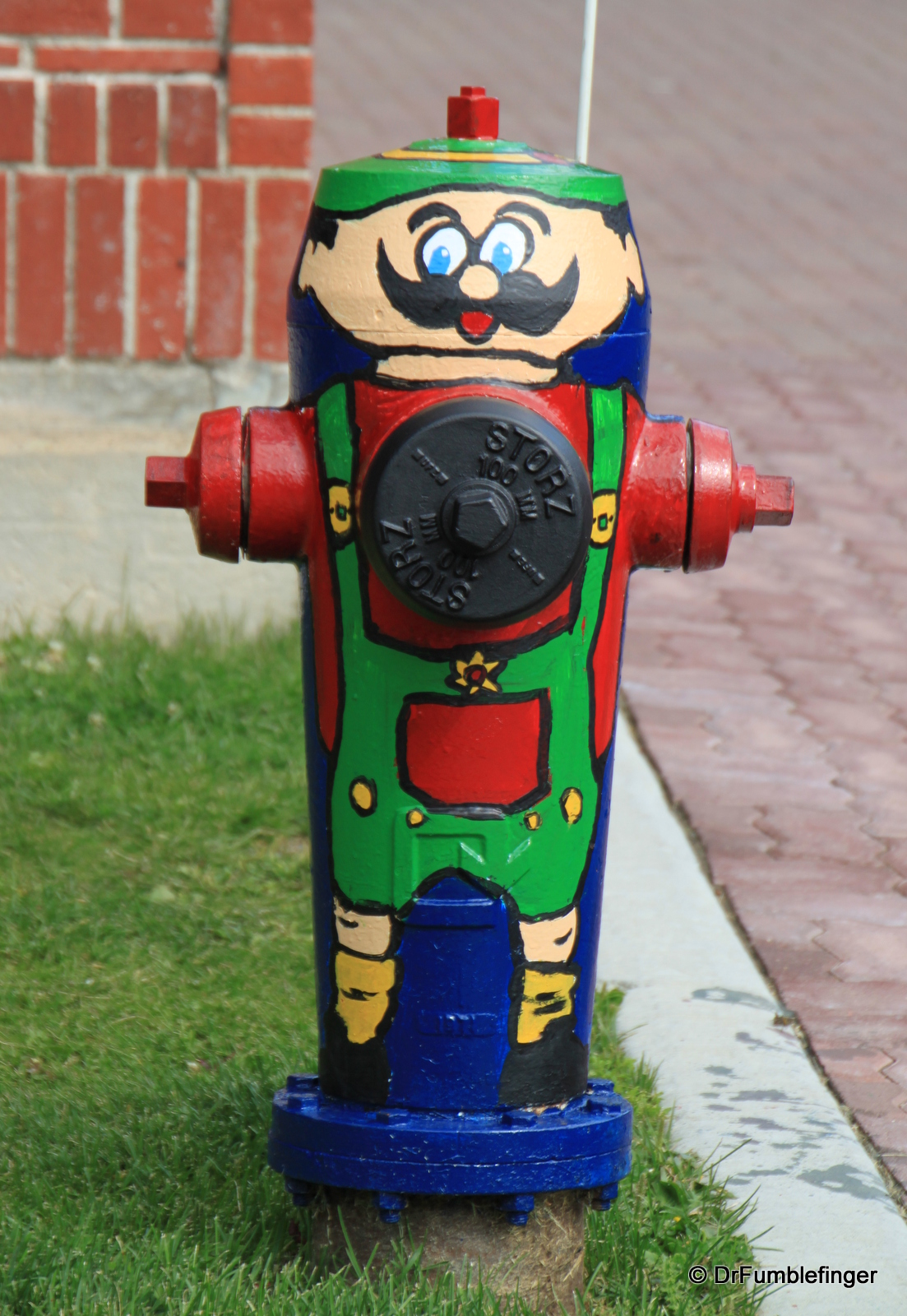 Kimberley's well decorated fire hydrants.