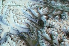 3D Topographic map, Kluane National Park Visitor Center