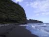 Pololu black sand beach
