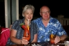 Enjoying dinner in Kona with Richard & Heidi (brother & sister-in-law)