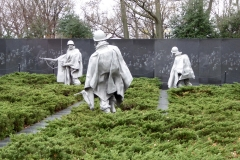 Korean War Veterans' Memorial, Washington D.C.