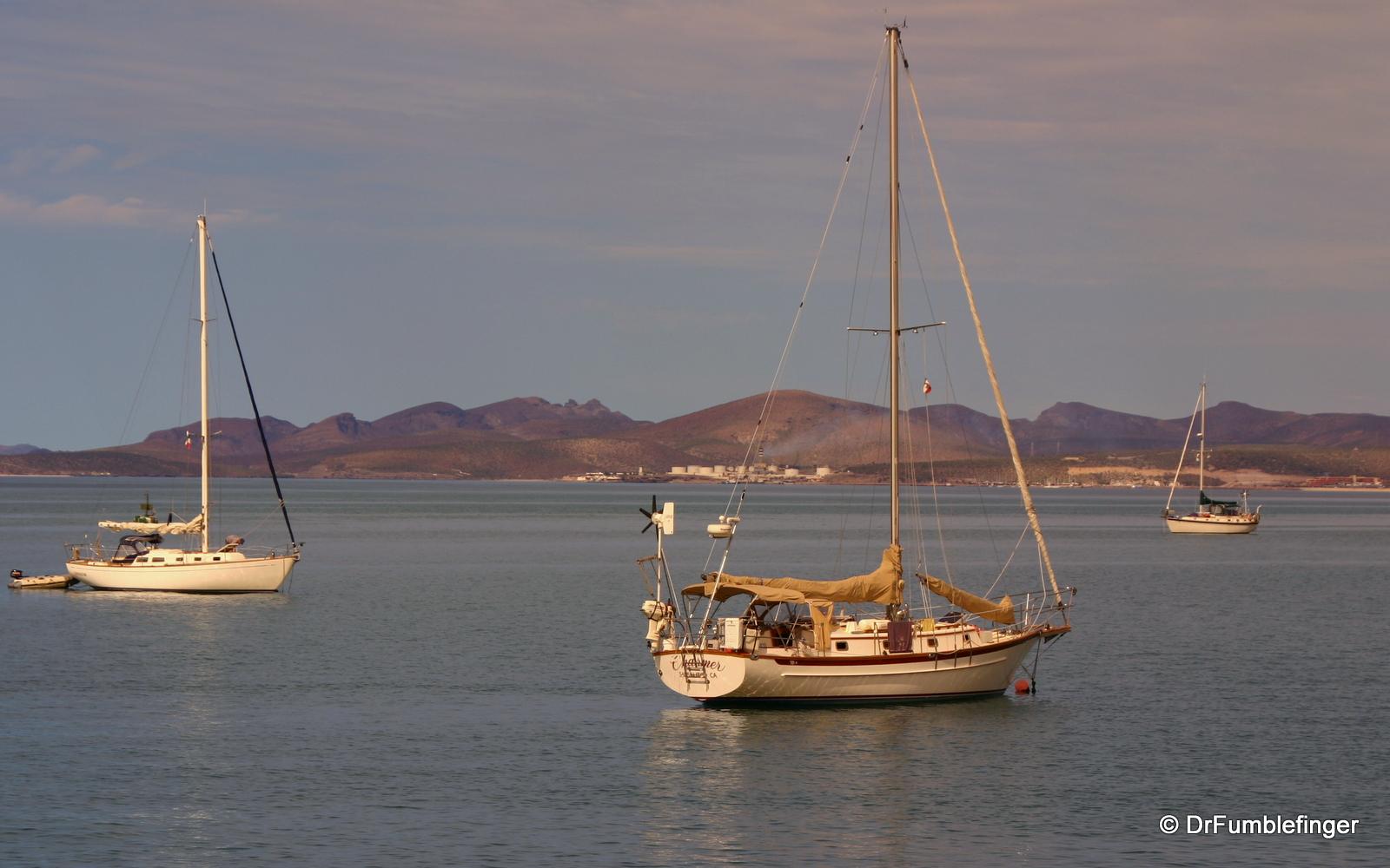 La Paz harbor