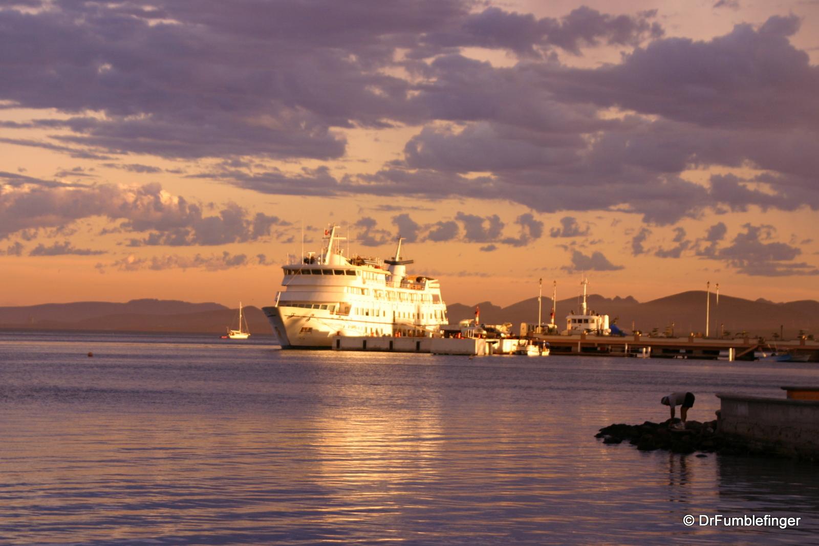 Ferry, La Paz harbor