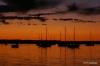 Sunset, La Paz harbor