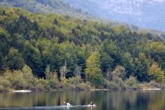 Kayaking, Lake Bohinj, Slovenia