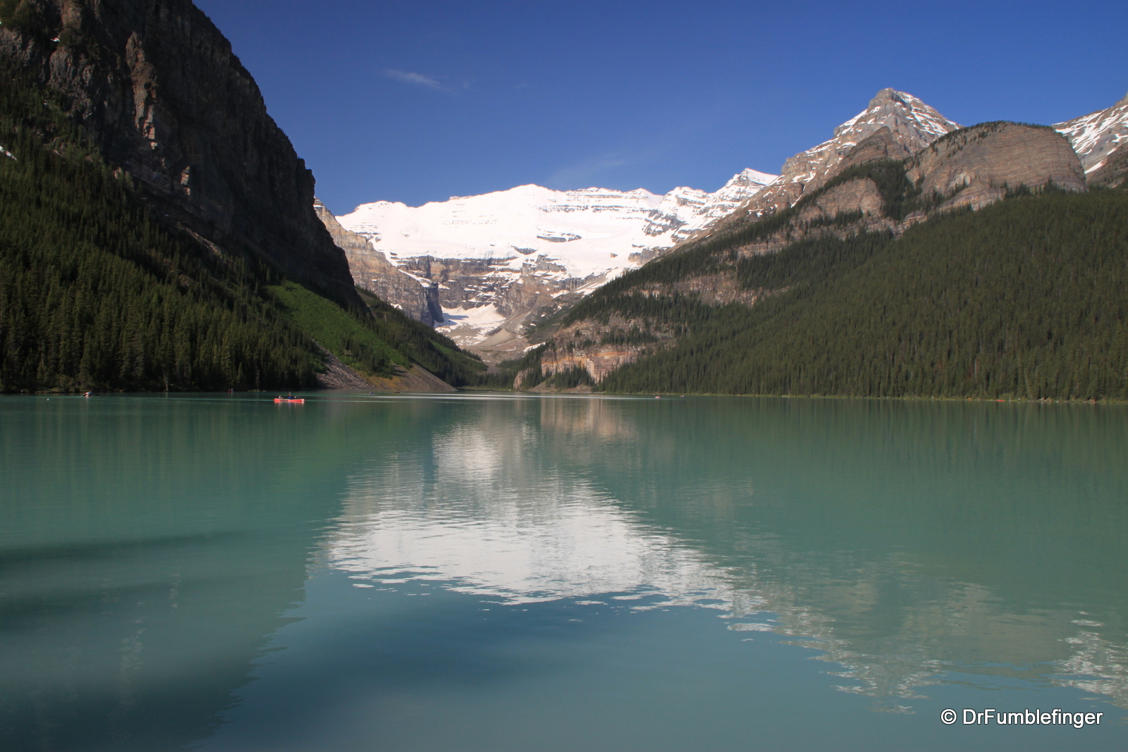 Banff National Park The Majesty Of Lake Louise The Plain
