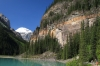 Quartzite cliffs, Lake Louise
